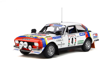 OTTO 1/18 Peugeot 504 Gr4 Coupe V6 #4 Safari Rally 1984 OT309