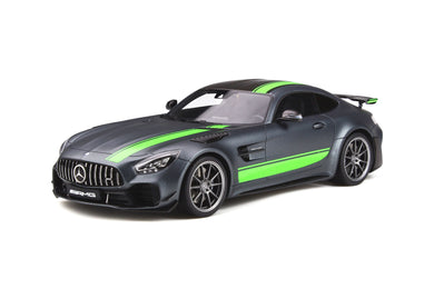 GT Spirit 1:18 Mercedes-Benz AMG GT-R Pro 2019 Grey/Green GT265