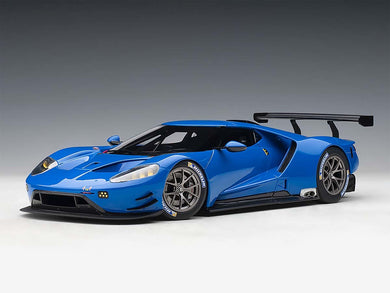 AUTOART 1/18 FORD GT LE MANS PLAIN COLOR VERSION (LIGHTNING BLUE) 81812
