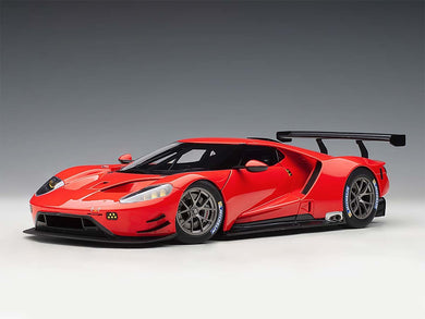 AUTOART 1/18 FORD GT LE MANS PLAIN COLOR VERSION (RUBY RED) 81811