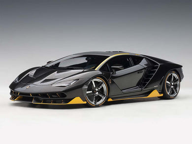 AUTOART 1/18 LAMBORGHINI CENTENARIO (CLEAR CARBON WITH YELLOW ACCENTS) 79114