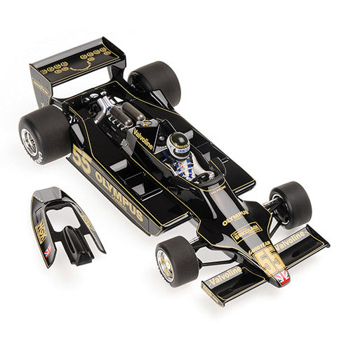 Minichamps 1/18 LOTUS FORD 79 - JEAN-PIERRE JARIER - CANADIAN GP 1978 L.E. 774 pcs. 100780055