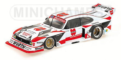 MINICHAMPS 1/18 FORD CAPRI TURBO GR.5 DRM CHAMPION 1981 #2 100818602