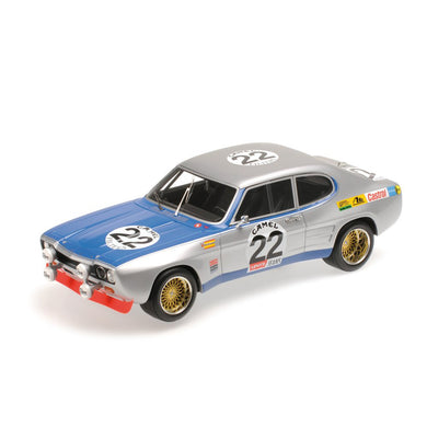 MINICHAMPS 1/18 FORD CAPRI 1 RS 2600 - GLEMSER/SOLER-ROIG - WINNER SPA 1971 107718022