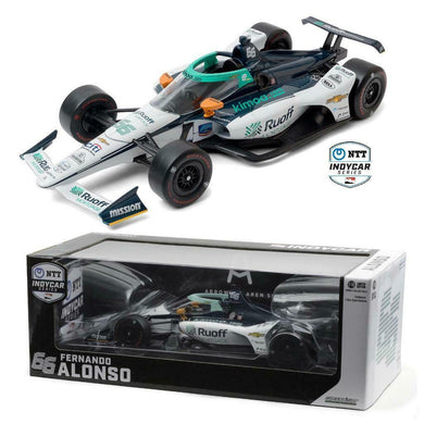 GreenLight 1:18 2020 NTT IndyCar Series - #66 Fernando Alonso / Arrow McLaren SP, Ruoff Mortgage 11097