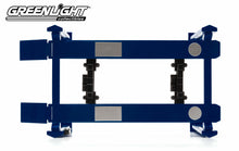 GreenLight 1/18 Adjustable Four-Post Lift - Blue 12884