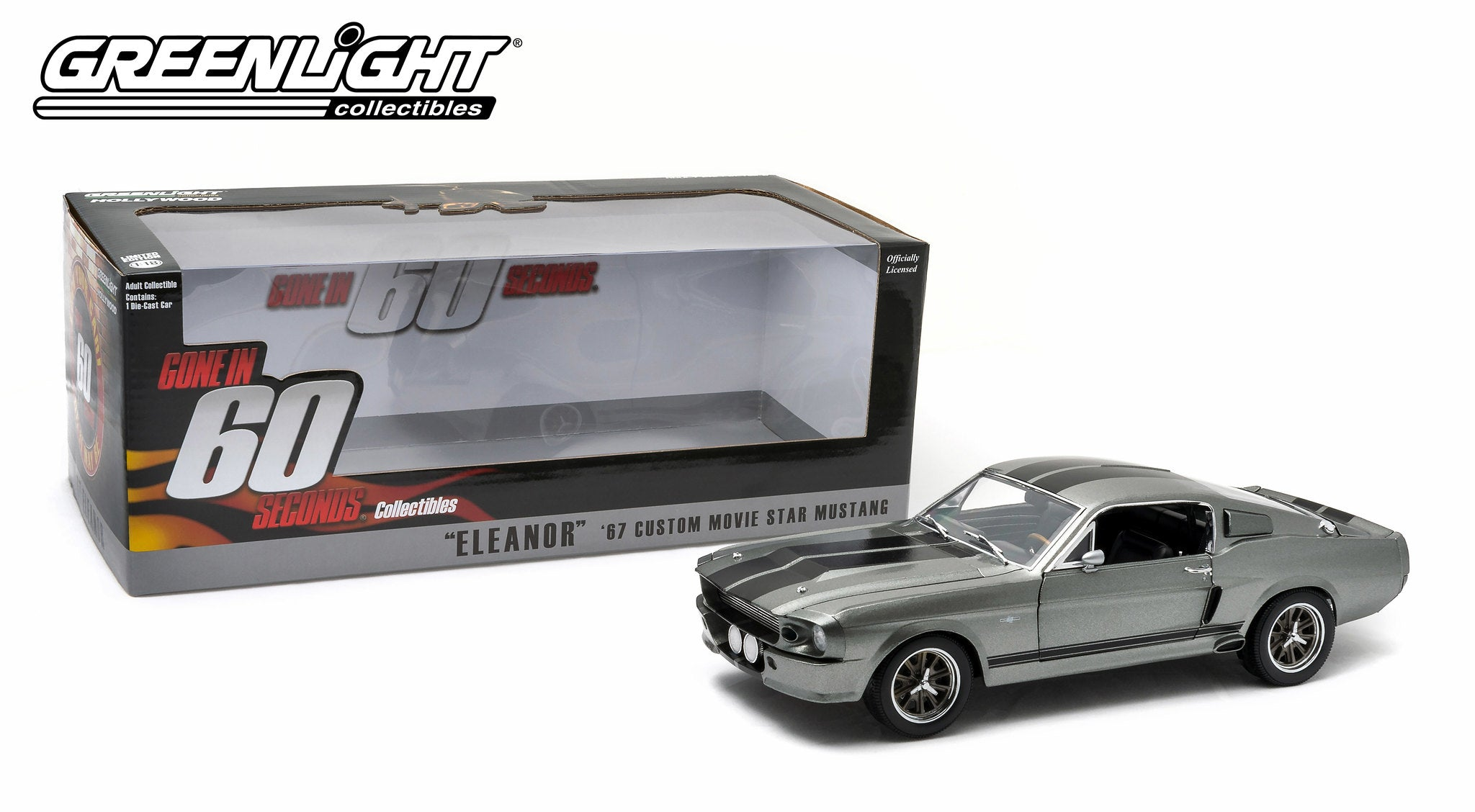 GreenLight 1/18 Gone in Sixty Seconds (2000) - 1967 Ford Mustang