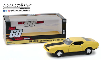 GreenLight 1:18 Gone in Sixty Seconds (1974) - 1973 Ford Mustang Mach 1 Eleanor 12910