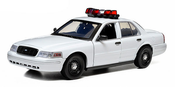 Greenlight 1/18 Ford Crown Victoria Police Interceptor With Lights and Sound 12921