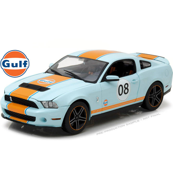 GreenLight 1/18 2012 Ford Mustang Shelby Gt500 Oil 12990