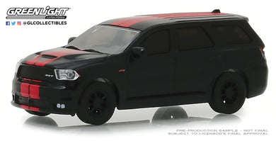 GreenLight 1/64 GreenLight Muscle Series 21 - 2018 Dodge Durango SRT - Diamond Black with Red Stripes 13230-F