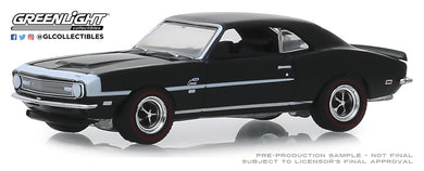 GreenLight 1:64 GreenLight Muscle Series 22 - 1968 Chevrolet COPO Camaro - Tuxedo Black 13250-A
