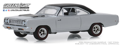 GreenLight 1:64 GreenLight Muscle Series 22 - 1968 Plymouth Road Runner Hemi - Buffed Silver 13250-B