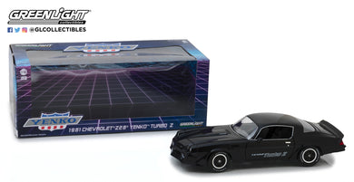 GreenLight 1/18 1981 Chevrolet Z/28 Yenko Turbo Z Black 13519
