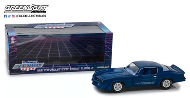 GreenLight 1/18 1981 Chevrolet Z/28 Yenko Turbo Z Blue 13520