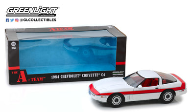 GreenLight 1:18 The A-Team (1983-87 TV Series) - 1984 Chevrolet Corvette C4 13532