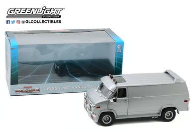 GreenLight 1:18 1983 GMC Vandura Custom - Silver Metallic 13568