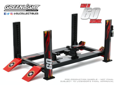 GreenLight 1:18 Four-Post Lift - Gone in Sixty Seconds 13580