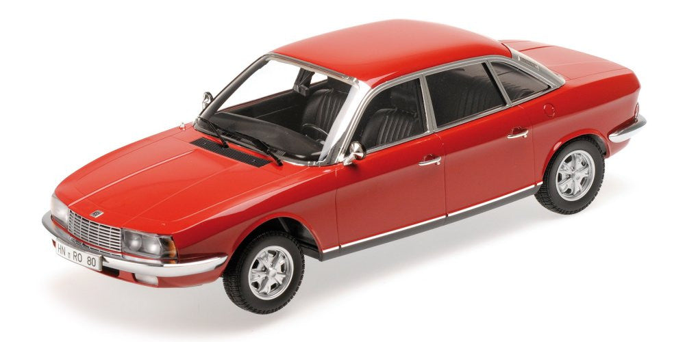 MINICHAMPS 1/18 NSU RO 80 1972 RED 151015404
