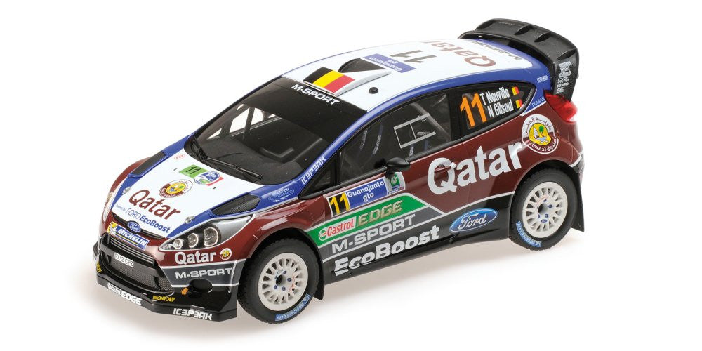 MINICHAMPS 1/18 FORD FIESTA RS WRC  RALLY MEXICO 2013 #11 151130811