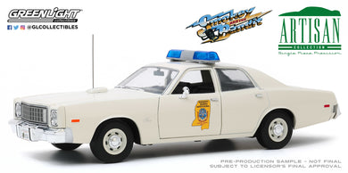 GreenLight 1:18 Artisan Collection - Smokey and the Bandit (1977) - 1975 Plymouth Fury Mississippi Highway Patrol 19083