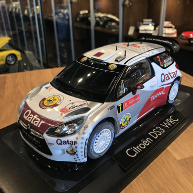 NOREV 1/18 CITROEN DS3 #7 WRC RALLY PORTUGAL 2012 AL-ATTIYAH 181558