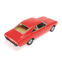MINICHAMPS 1/18 OPEL REKORD C COUPE - 1966 - RED 107047020