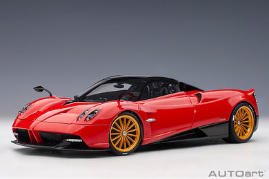 AUTOART 1:18 PAGANI HUAYRA ROADSTER (ROSSO MONZA/RED) 78287