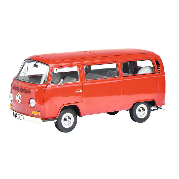 Schuco 1/18 Volkswagen VW T2a Bus anniversary Edition 50 years Red 450019600