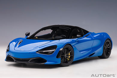 AUTOART 1:18 McLAREN 720S (PARIS BLUE/METALLIC BLUE) 76073