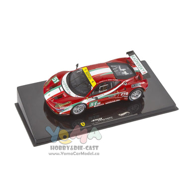 Hot Wheels Elite 1/43 Ferrari 458 GT2 #51 Le Mans 2011 X5497
