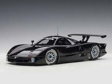 AUTOART 1/18 NISSAN R390 GT1 LE MANS 1998 (BLACK) LIMITED EDITION OF 500 PIECES WORLDWIDE 89878