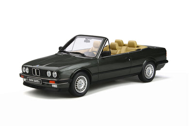 OTTO 1:18 1988 BMW E30 325i Convertible Green OT572