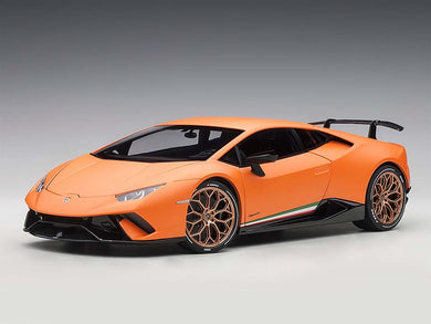AUTOART 1/18 LAMBORGHINI HURACAN PERFORMANTE MATT ORANGE 79152