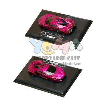 Frontiart AvanStyle 1/87 W Motors Lykan Hypersport Flash Purple AS015-36