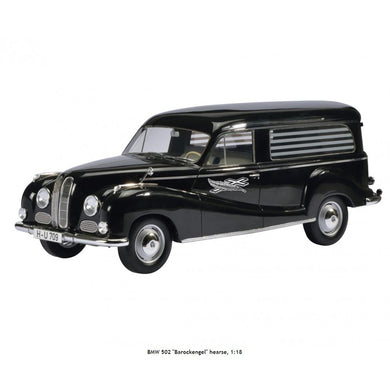 Schuco 1/18 BMW 502 Baroque Angel Hearse 450010800