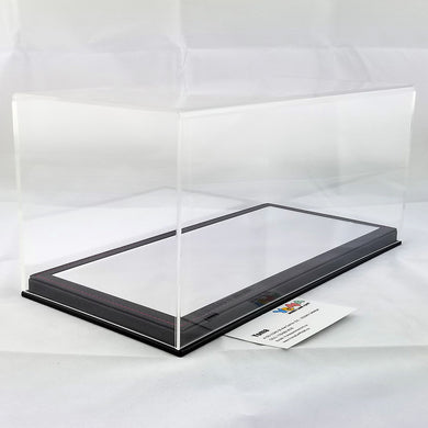 1/18 32cm*16cm*14cm Display Box Mirror black base