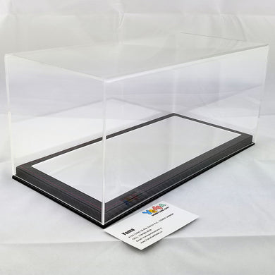 1/18 32cm*16cm*14cm Display Box Mirror carbon fiber base