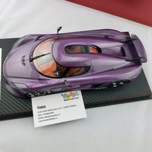 Frontiart 1/18 KOENIGSEGG REGER CARBON PURPLE AS010-92