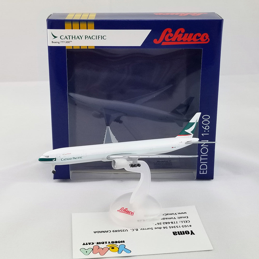 SCHUCO 1/600 Boeing B777-300 Cathay Pacific 403551679