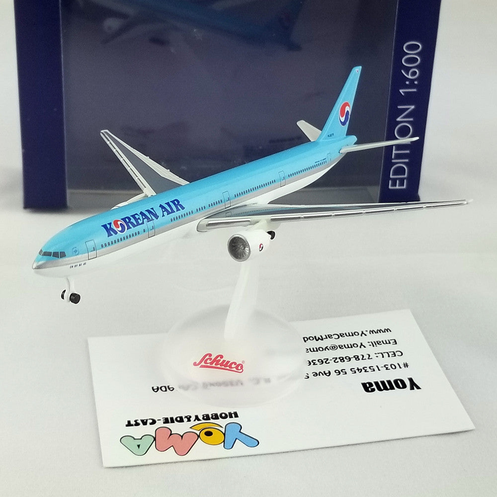 SCHUCO 1/600 Boeing B777-300 Korean Air HL8275 403551678