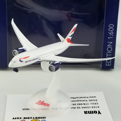 SCHUCO 1/600 Boeing B787-800 British Airways 403551661