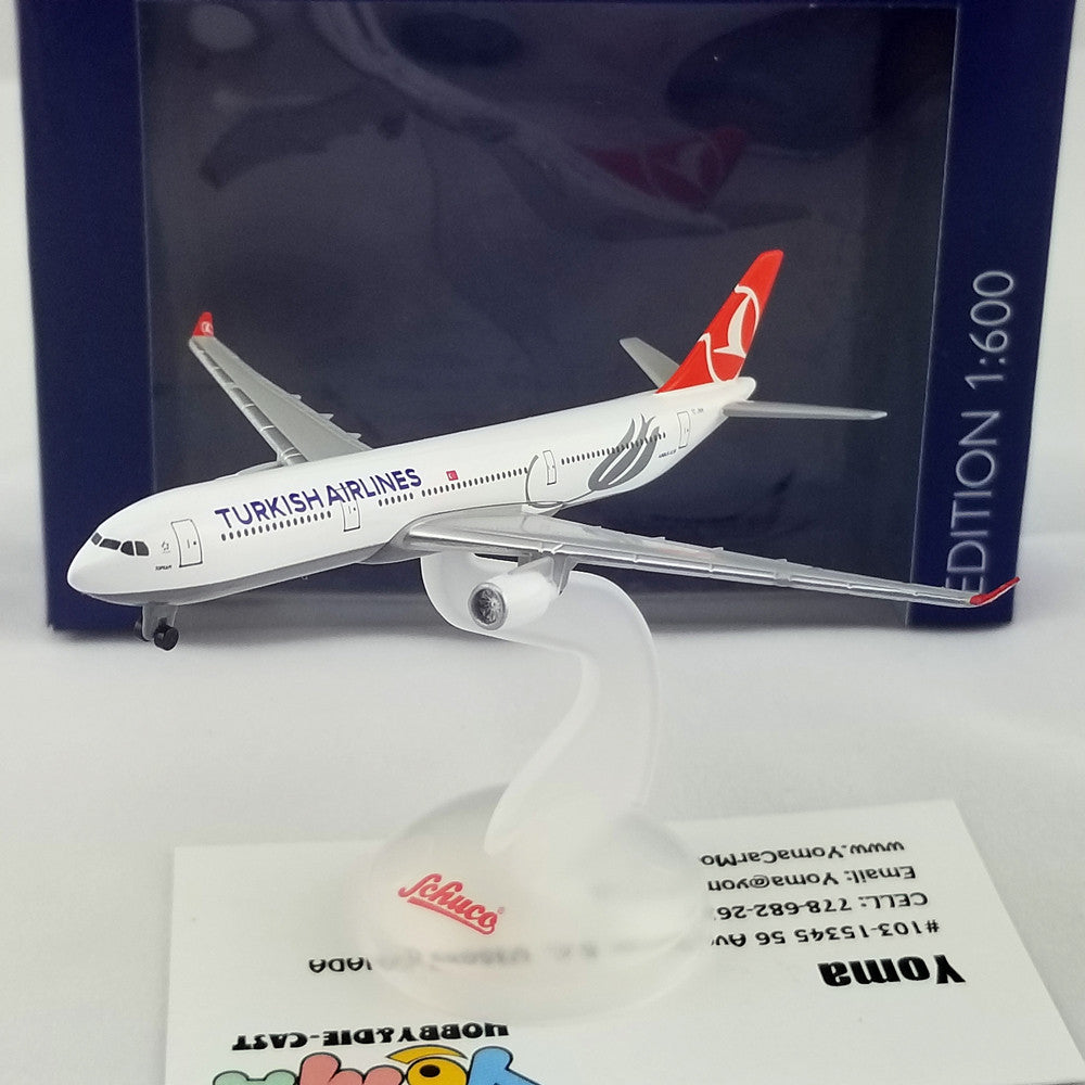 SCHUCO 1/600 Airbus A330-300 Turkish Airlines F-WZFA 403551668