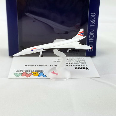 SCHUCO 1/600 Concorde British Airways 403551650