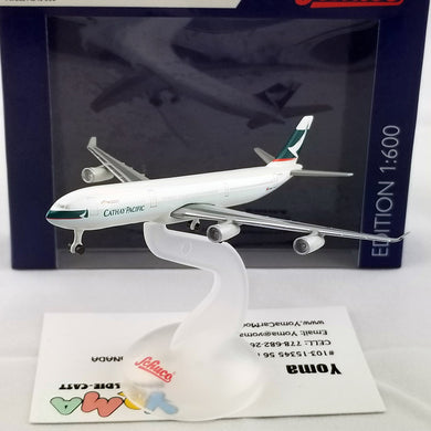SCHUCO 1/600 Airbus A340-300 Cathay Pacific 403551672