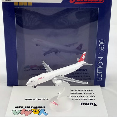SCHUCO 1/600 Airbus A321 Swiss International Airlines 403551662