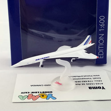 SCHUCO 1/600 Concorde 101 Air France 403551651