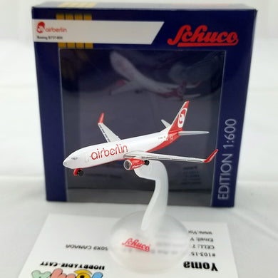 SCHUCO 1/600 BOEING B737-800 AIR BERLIN 403551629