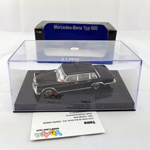 AUTOart 1/43 MERCEDES-BENZ 600 SWB (BLACK) 56192