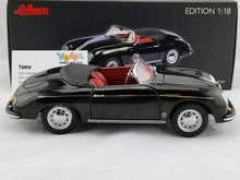 SCHUCO 1/18 PORSCHE 356A SPEEDSTER BLACK Diecast Model Car 450030800
